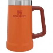 Caneca de Chopp Térmica Stanley Cerveja Gelada 709ML Orange
