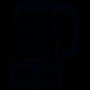 Chaleira Elétrica Jarra de Vidro 127v 1,7 Litros