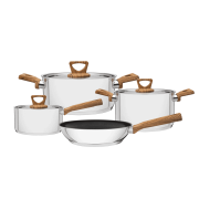 Conjunto de 2 Jogos Brava Antiaderente 4 Peças Tramontina