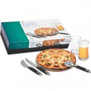 Conjunto para Pizza Turin 9 Peças