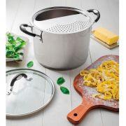 Espagueteira Tramontina para Fogão de Indução 24cm Aço Inox