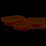 Formas para Cozinha Tramontina 3 Peças com NFe