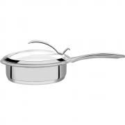 Frigideira de Alto Padrão para Cozinhas Modernas 20cm Aço Inox