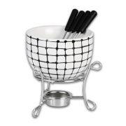 Kit para Fondue em Cerâmica Hauskraft