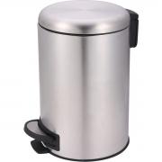 Lixeira de Aço Inox Polida com Pedal 20 Litros Safira Mor