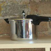 Panela de Pressão para Fogão de Indução Inox 6 Litros Mta