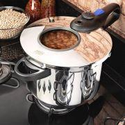 Panela de Pressão para Cozinhas Modernas 6 Litros Inox Mta