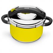 Panela de Pressão Presto 6 Litros Indução Amarela