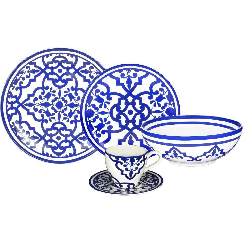 Aparelho de Jantar 30 Peças Turkish Delight Full Fit