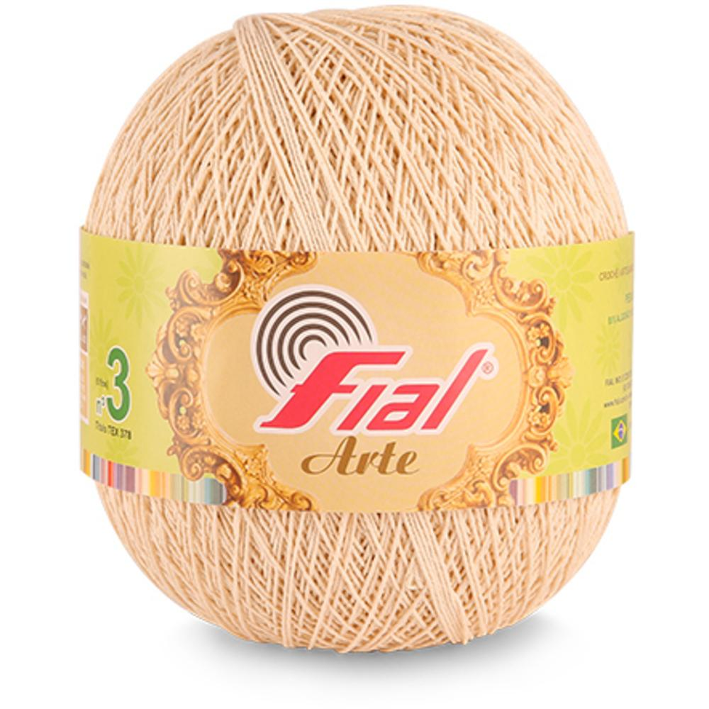 Barbante Fial Arte 370gr Cor 98 Natural N3 Fial
