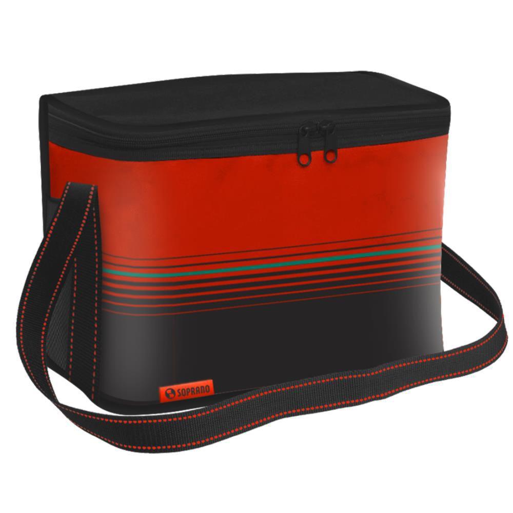Bolsa Térmica Tropical 30 Litros Vermelha Soprano