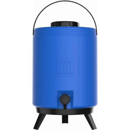 Botijão Térmico 12 Litros Azul