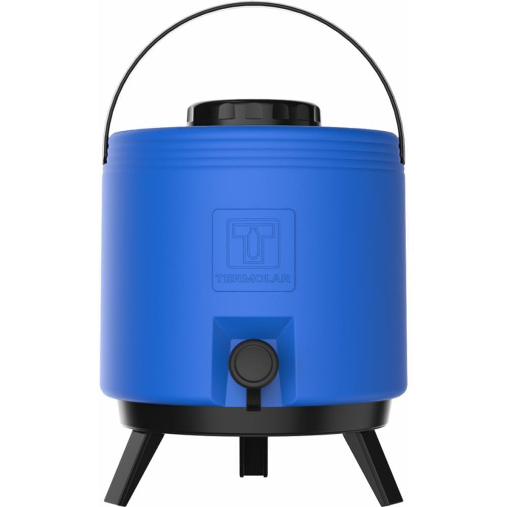 Botijão Térmico 8 Litros Azul