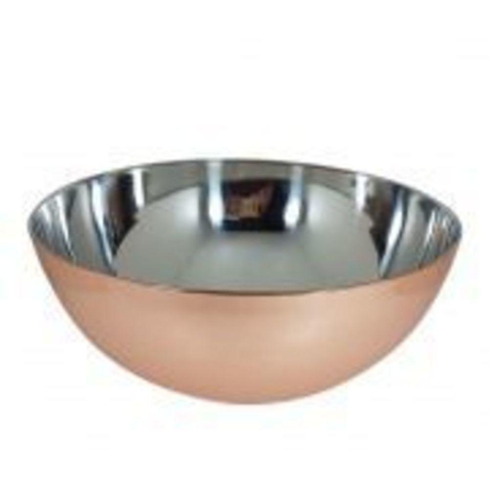 Bowl Inox Cobreado 28 cm Mimo Style
