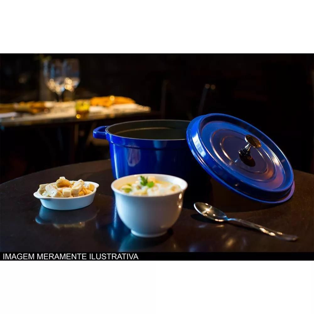 Caçarola Grand Gourmet  20 x 9,5 cm 2,3 L Azul Brinox