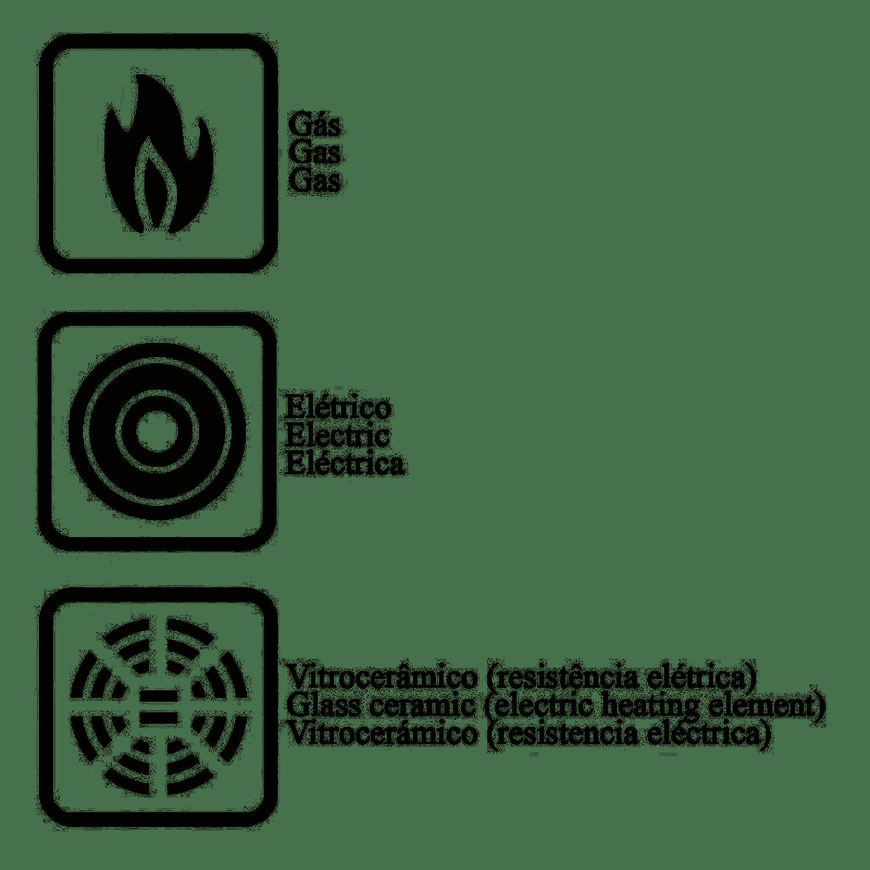 Caçarola Mônaco 24cm Vermelha