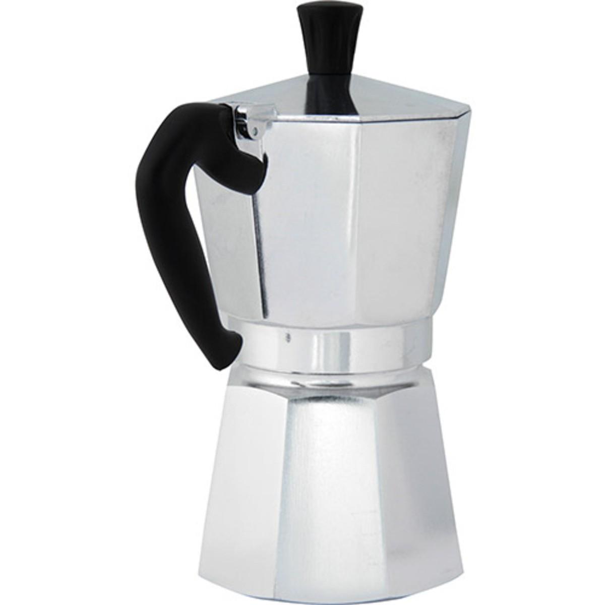 Cafeteira 6 Xícaras para Fogão Mooka Express Prata Bialetti