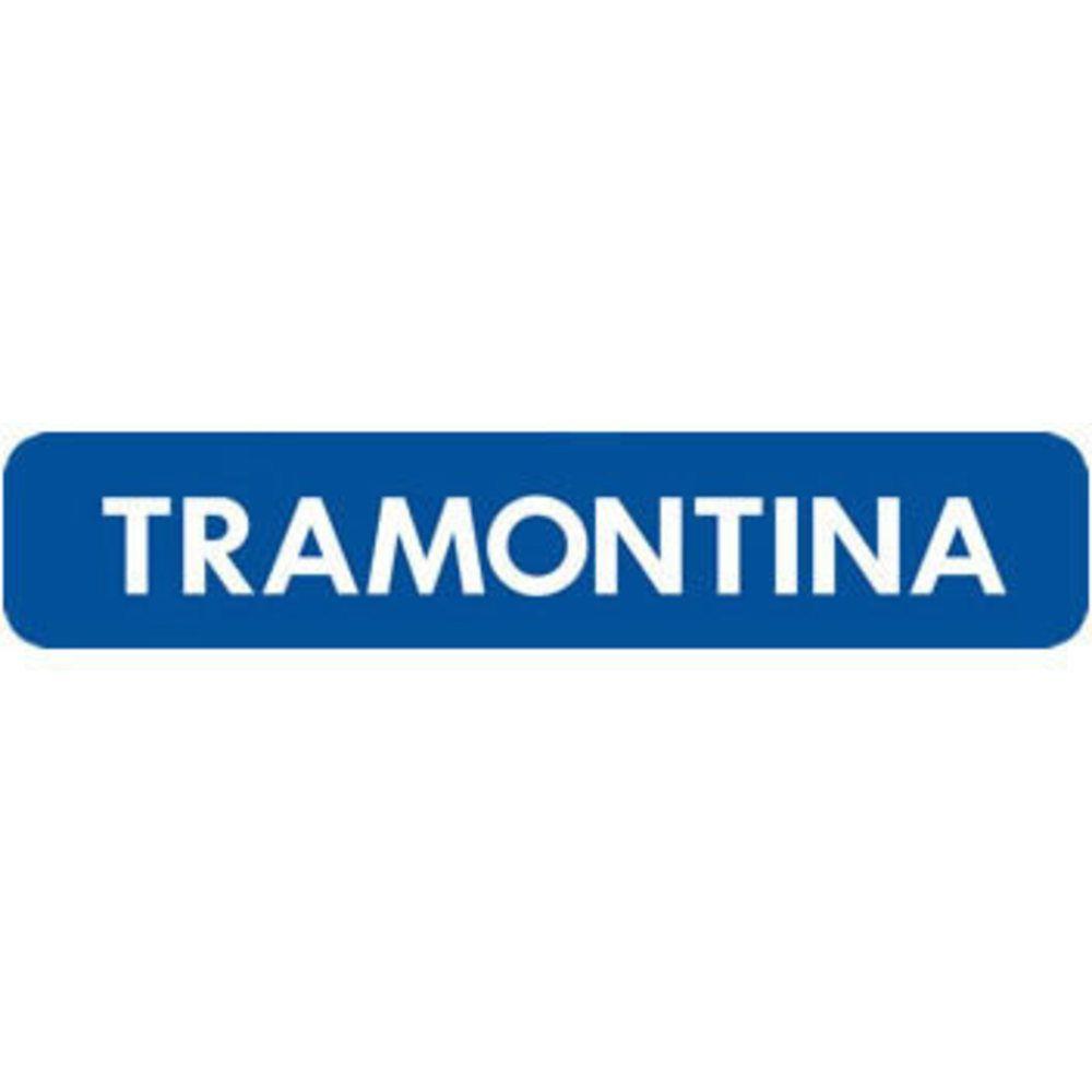 Caldeirão Tramontina Mônaco Vermelho 24cm com Tampa de Vidro