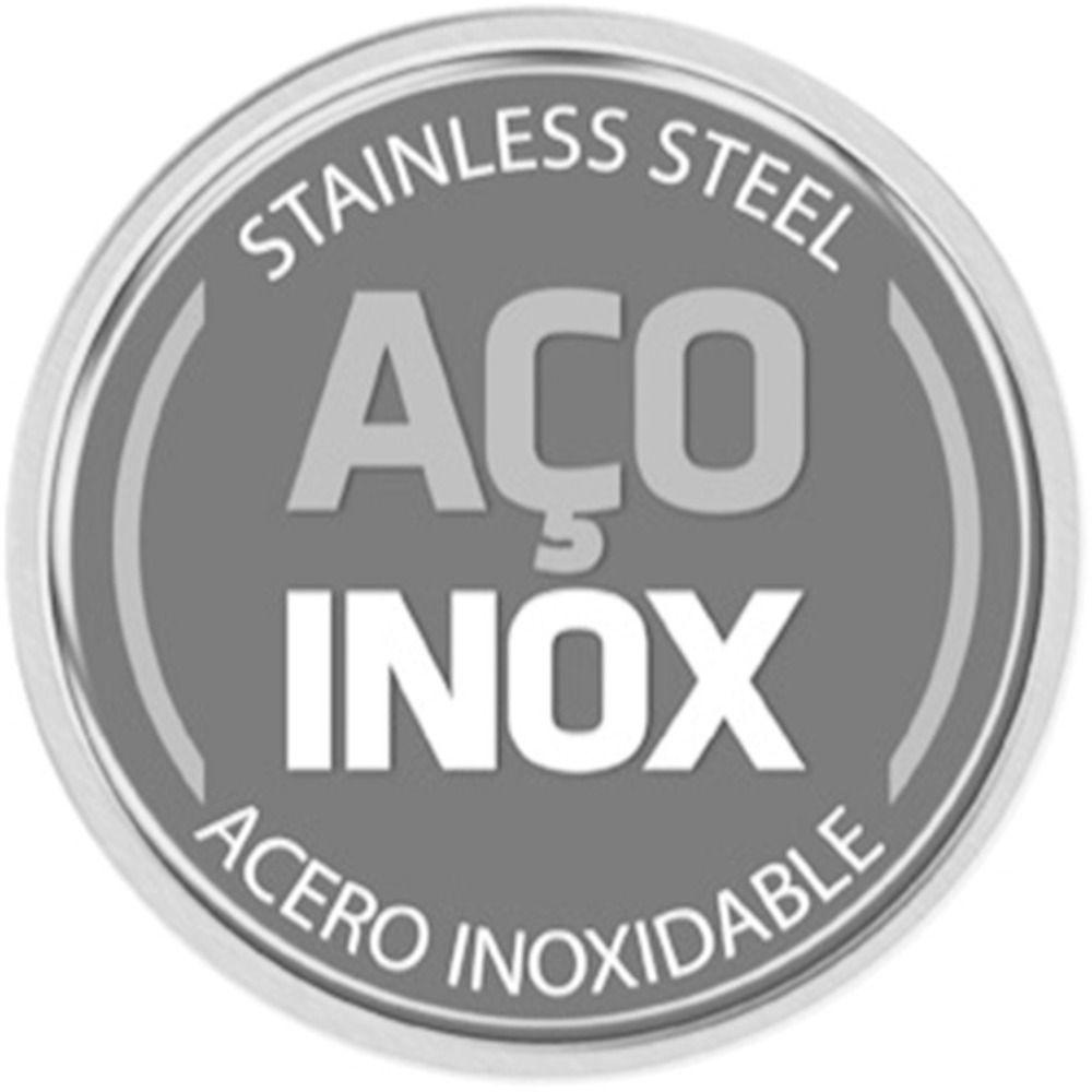 Caldeirão Tramontina para Fogão de Indução Aço Inox 30cm