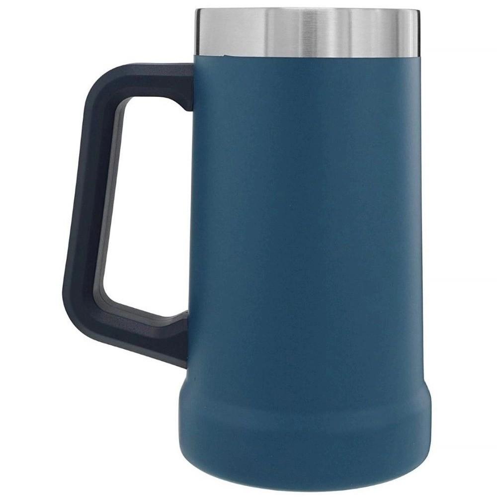 Caneca de Chopp Térmica Stanley Cerveja Gelada 709ML Azul