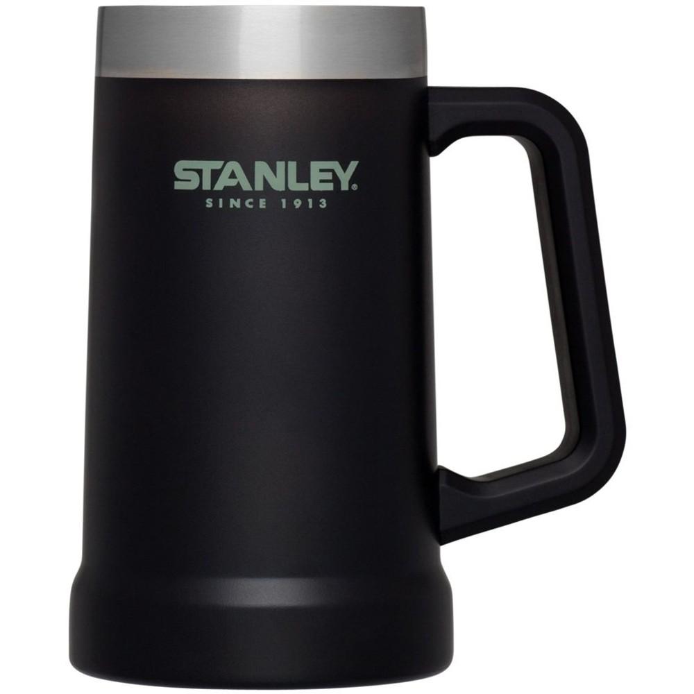 Caneca de Chopp Térmica Stanley Cerveja Gelada 709ML Black