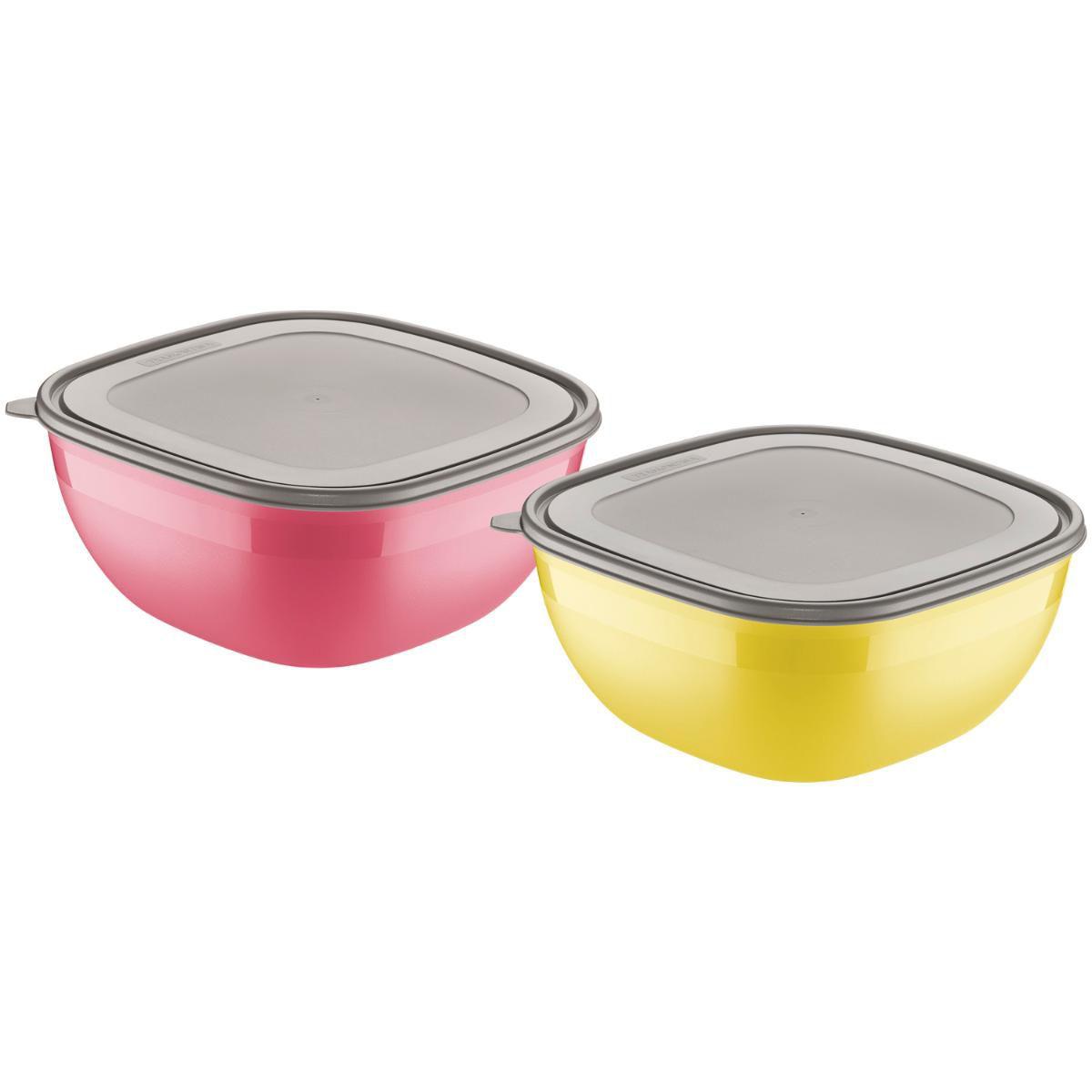 Conjunto De Potes 2 Peças Mixcolor 25099949 Tramontina