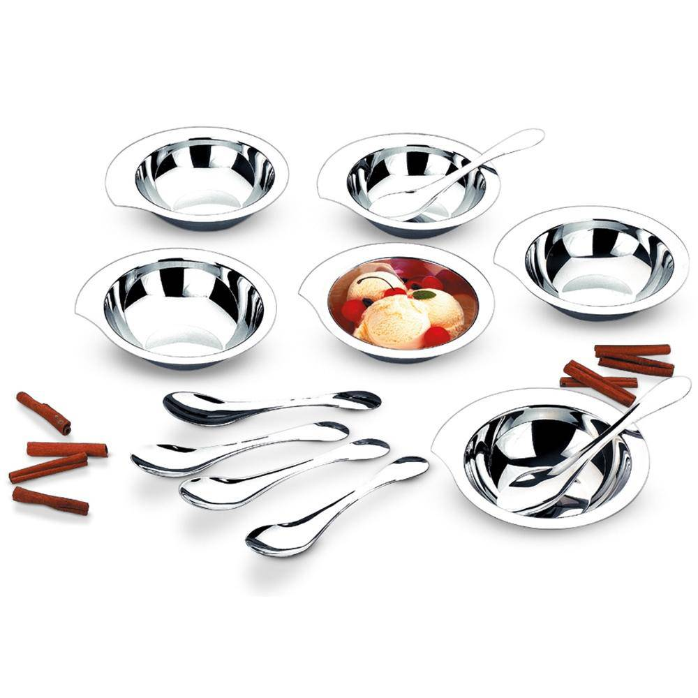Conjunto Sobremesa Perfectha em Aço Inox 12 Peças Zanella