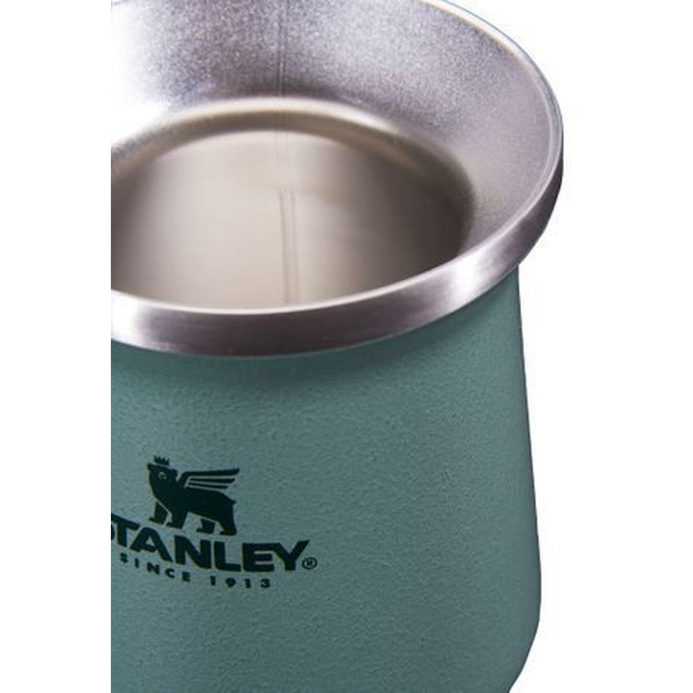 Cuia Térmica Inox para Mate 236ml Hammertone Green Stanley
