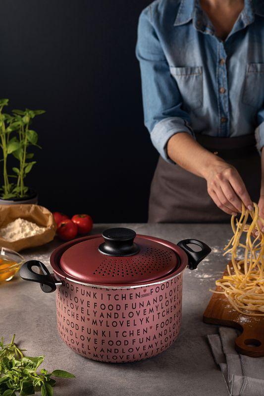 Espagueteira Tramontina 22Cm My Lovely Kitchen Antiaderente