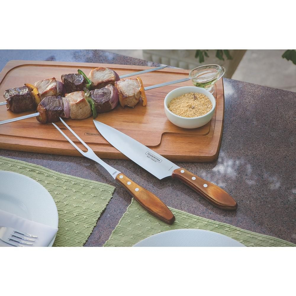 Faca para Carne 8 Pol Polywood Tramontina