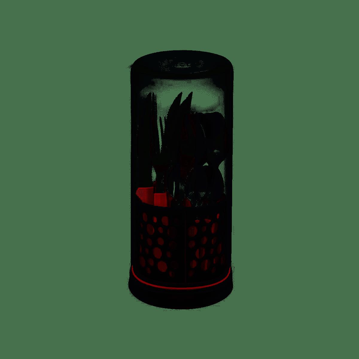 Faqueiro Tramontina Multiply Inox 27 Peças Vermelho Marsala