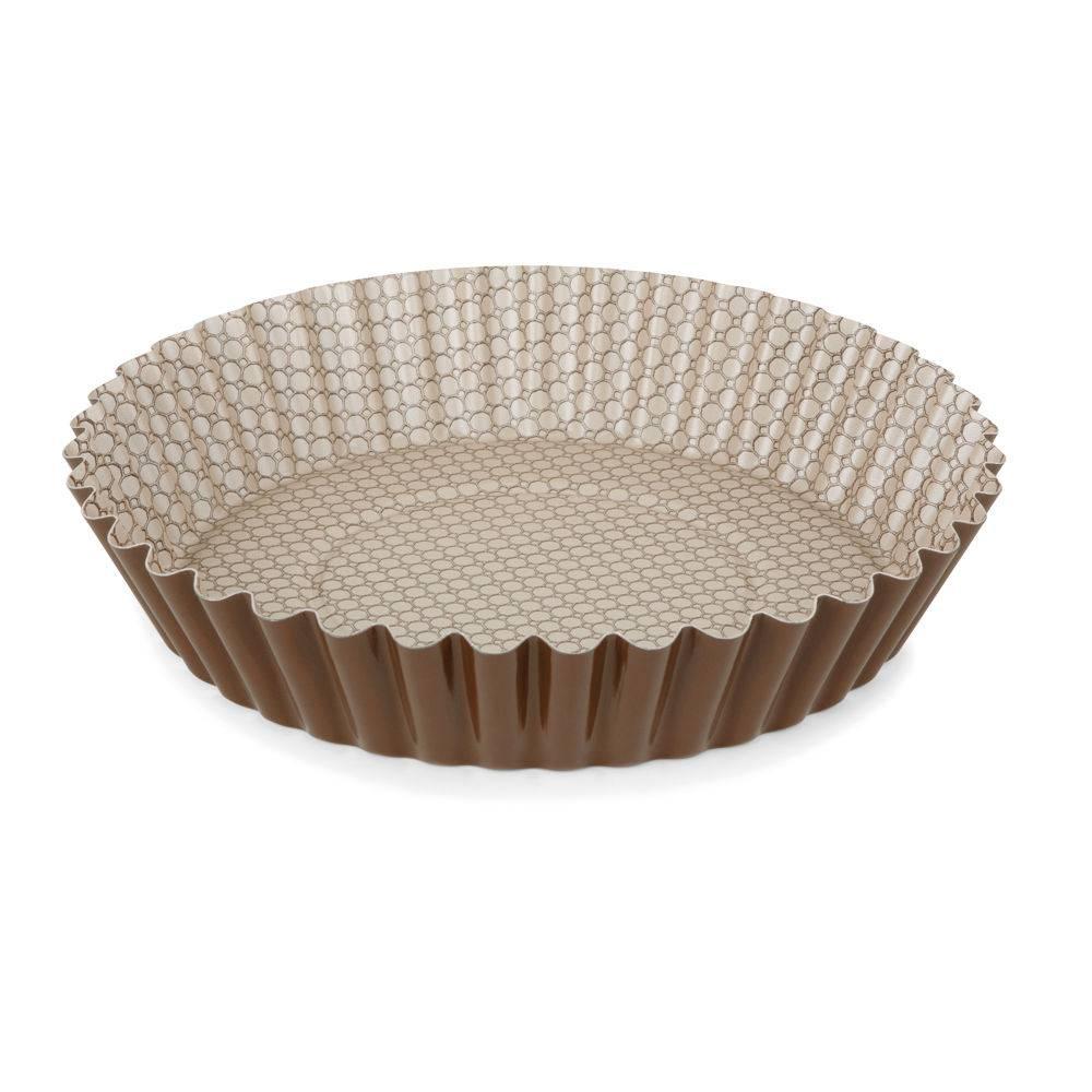 Forma Canelada para Bolo e Torta 26cm Chocolate Multiflon