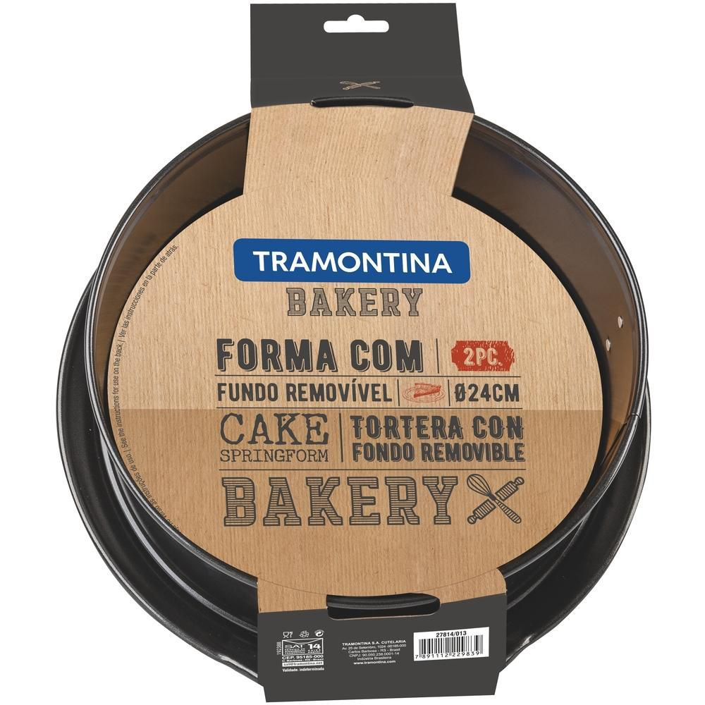 Forma Com Fundo Removível 24cm Bakery Tramontina
