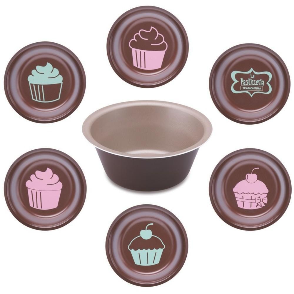Forma para Cup Cakes La Pasticceria Tramontina