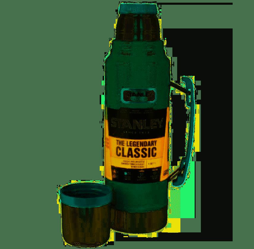 Garrafa Térmica Classic Hammertone Green 1,00l Stanley