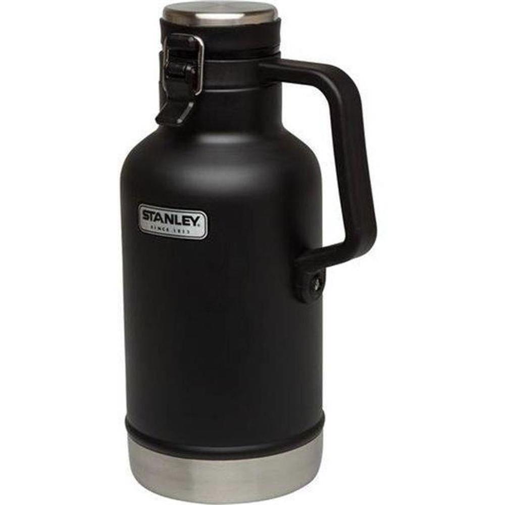 Garrafa Térmica Growler Classic Vacuum Preta 1,9L Stanley