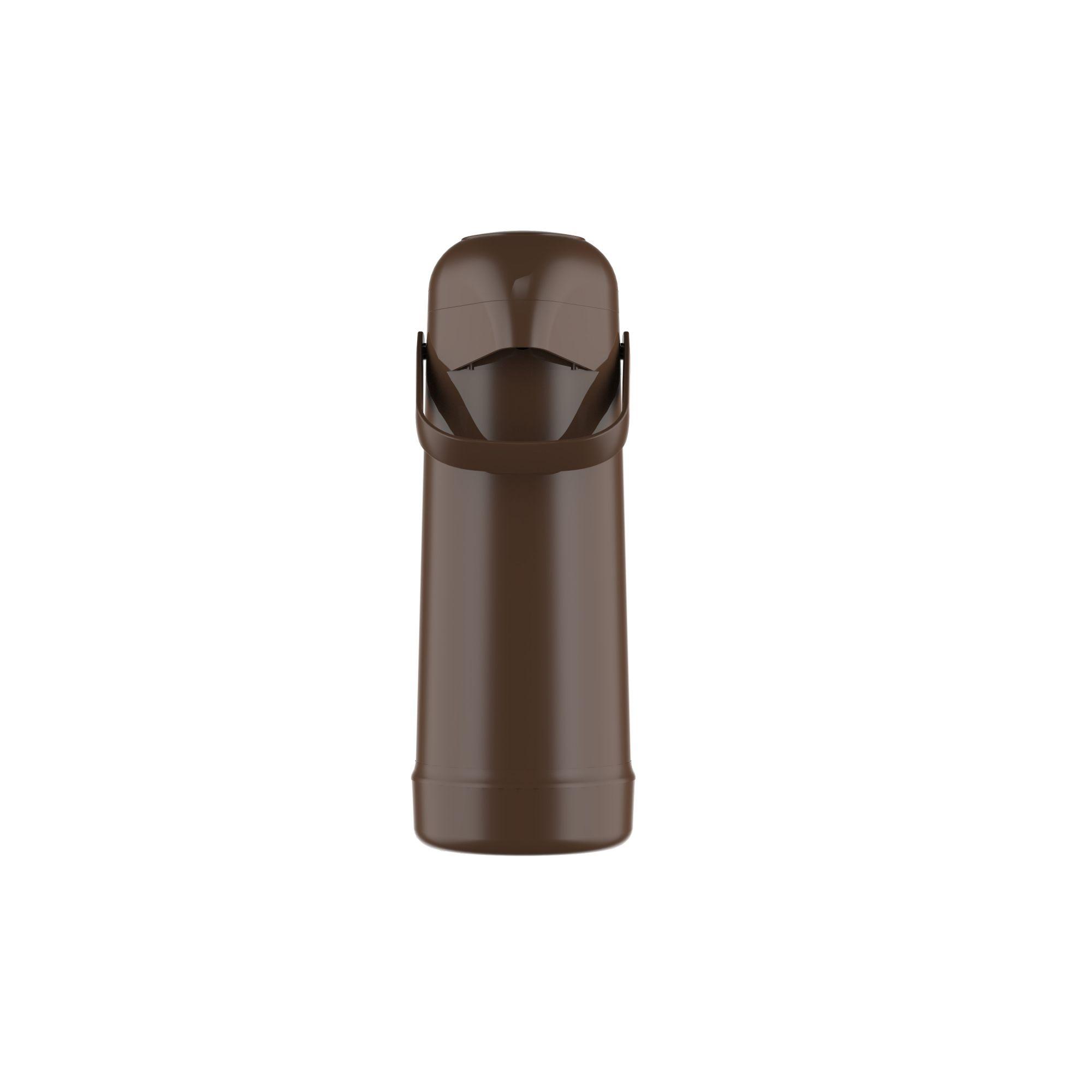 Garrafa Térmica Magic Pump 1,8 Litro Marrom Termolar