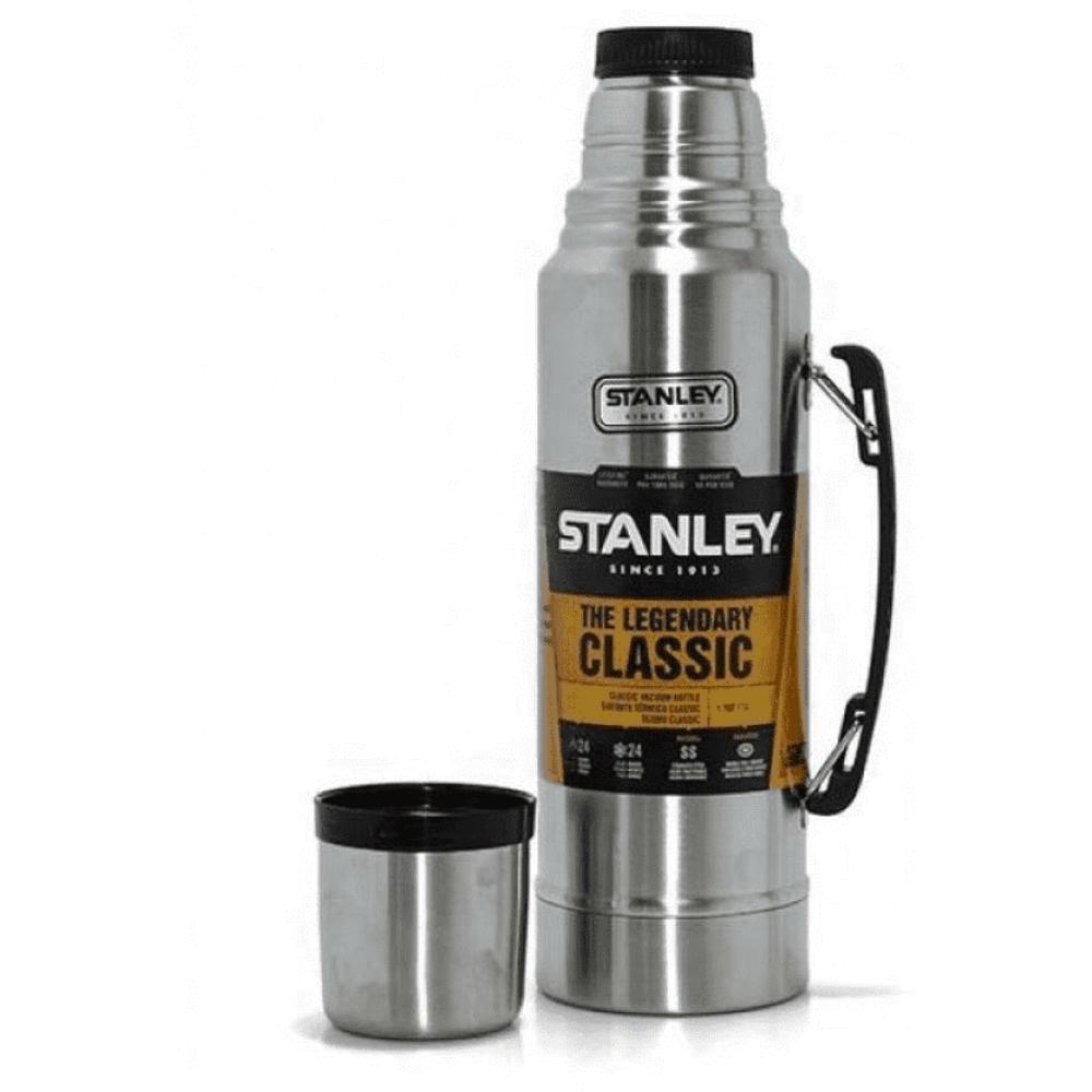 Garrafa Térmica Stanley 24 Horas Quente ou Frio Verde Inox