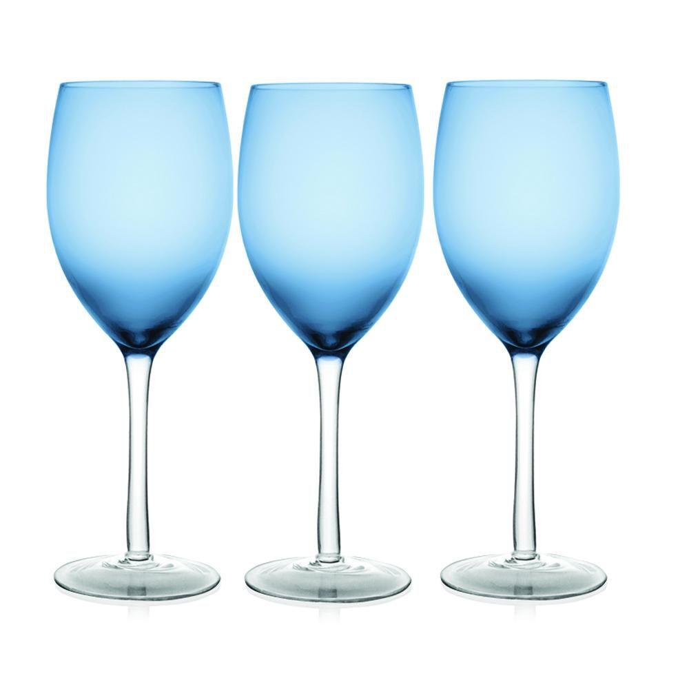 Jogo 6 Taças para Água Azul Class Home