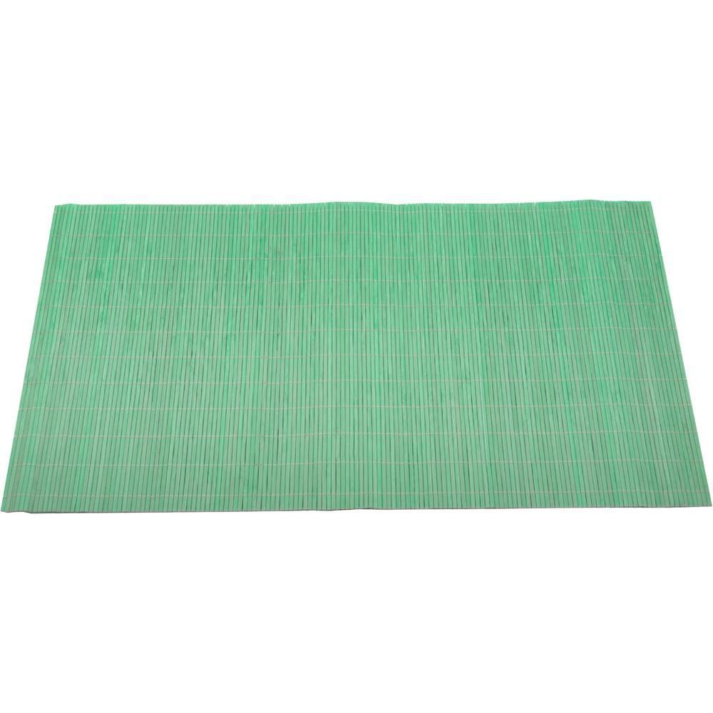 Jogo Americano 4 Peças Bambu Verde Mimo Style