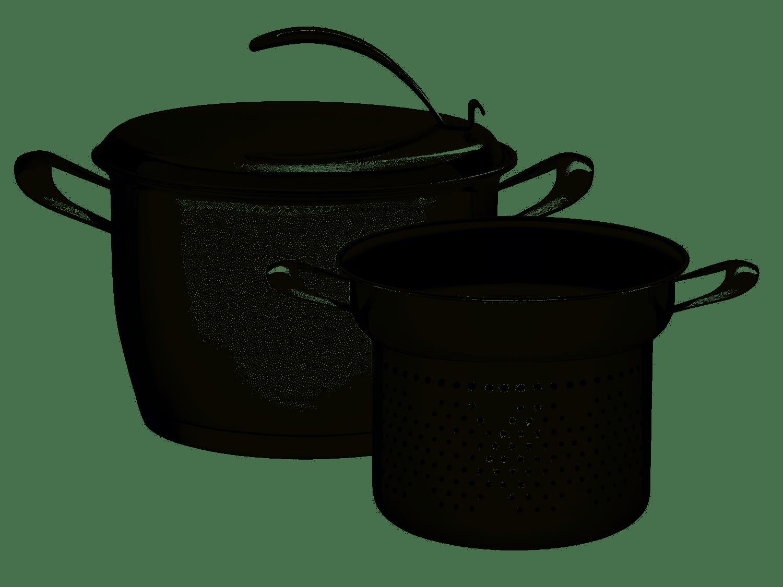 Jogo Cozi-Pasta Tramontina 2 Peças Inox 20