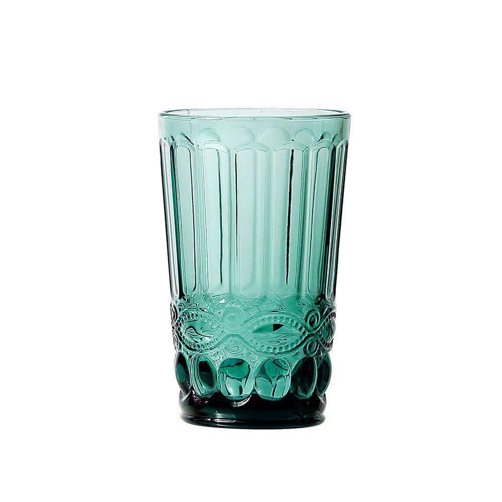 Jogo de Copos Elegance Tiffany 350ml Vidro Class Home