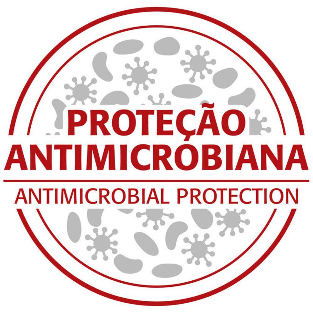 Jogo de Facas Tramontina Antimicrobiana 3 Peças Nygma Preta