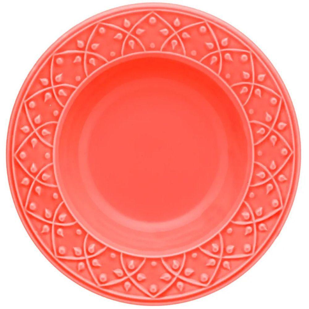 Aparelho de Jantar 30 Peças Mendi Coral Oxford