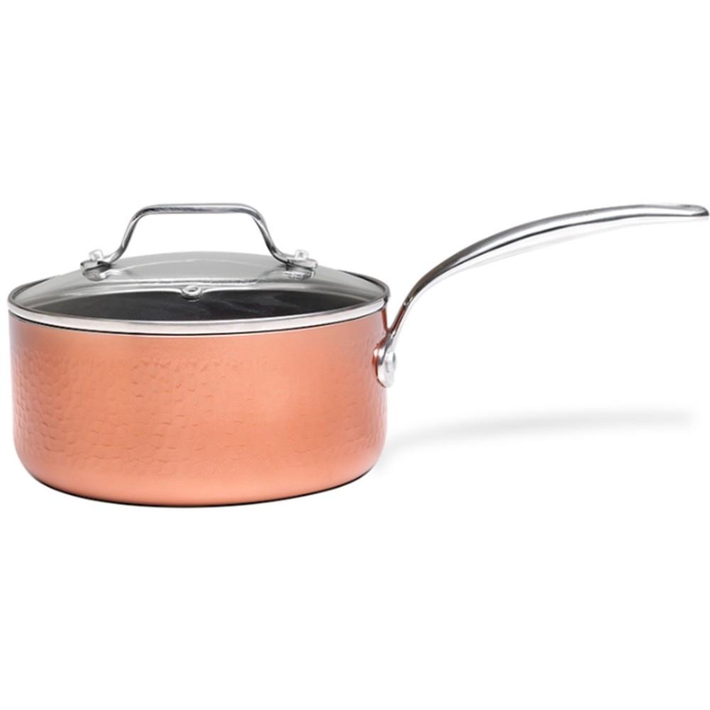 Jogo de Panelas Antiaderente Fogão Indução Brinox Copper 4Pç