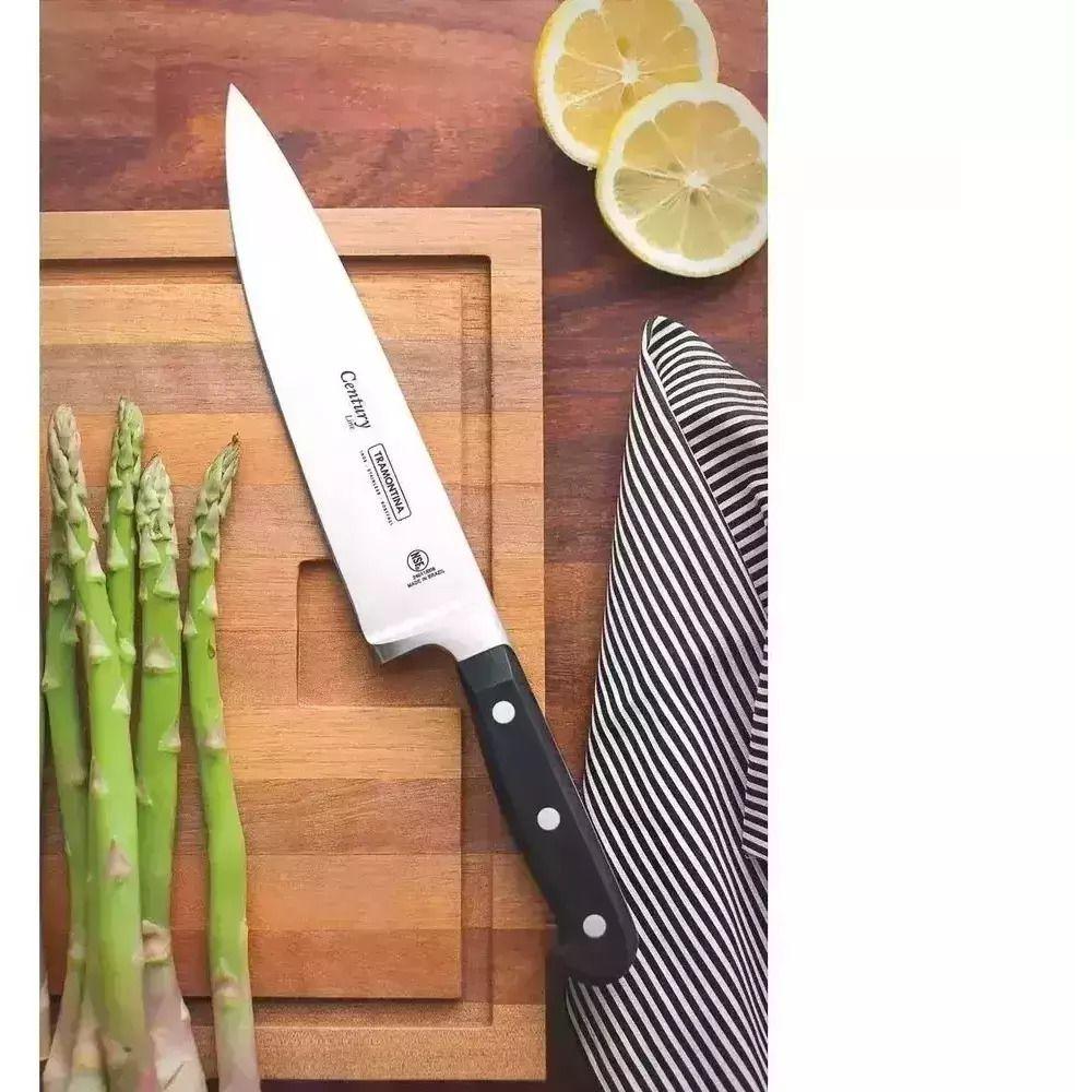Kit Chefe Inox Cortar 10 Peças Century Tramontina