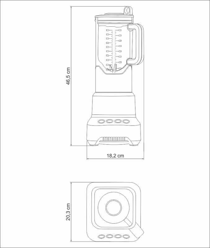 Liquidificador Alumínio 127V Gourmet Pro By Breville Tramontina