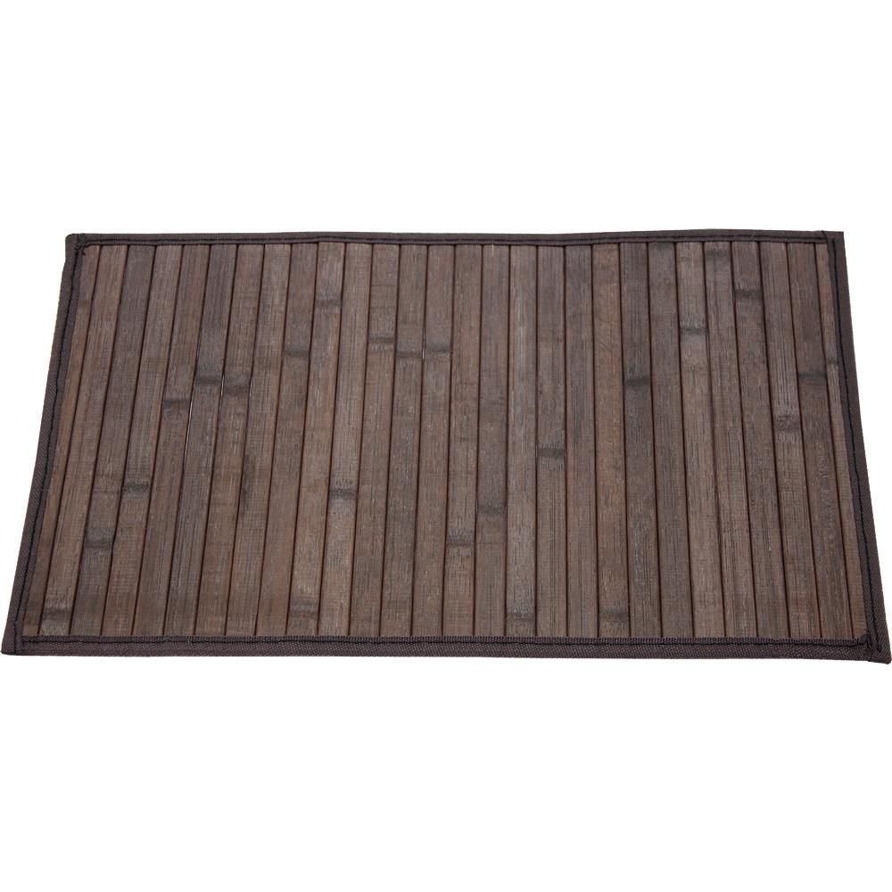 Lugar Americano Bamboo Marrom 45x30 Mimo Style