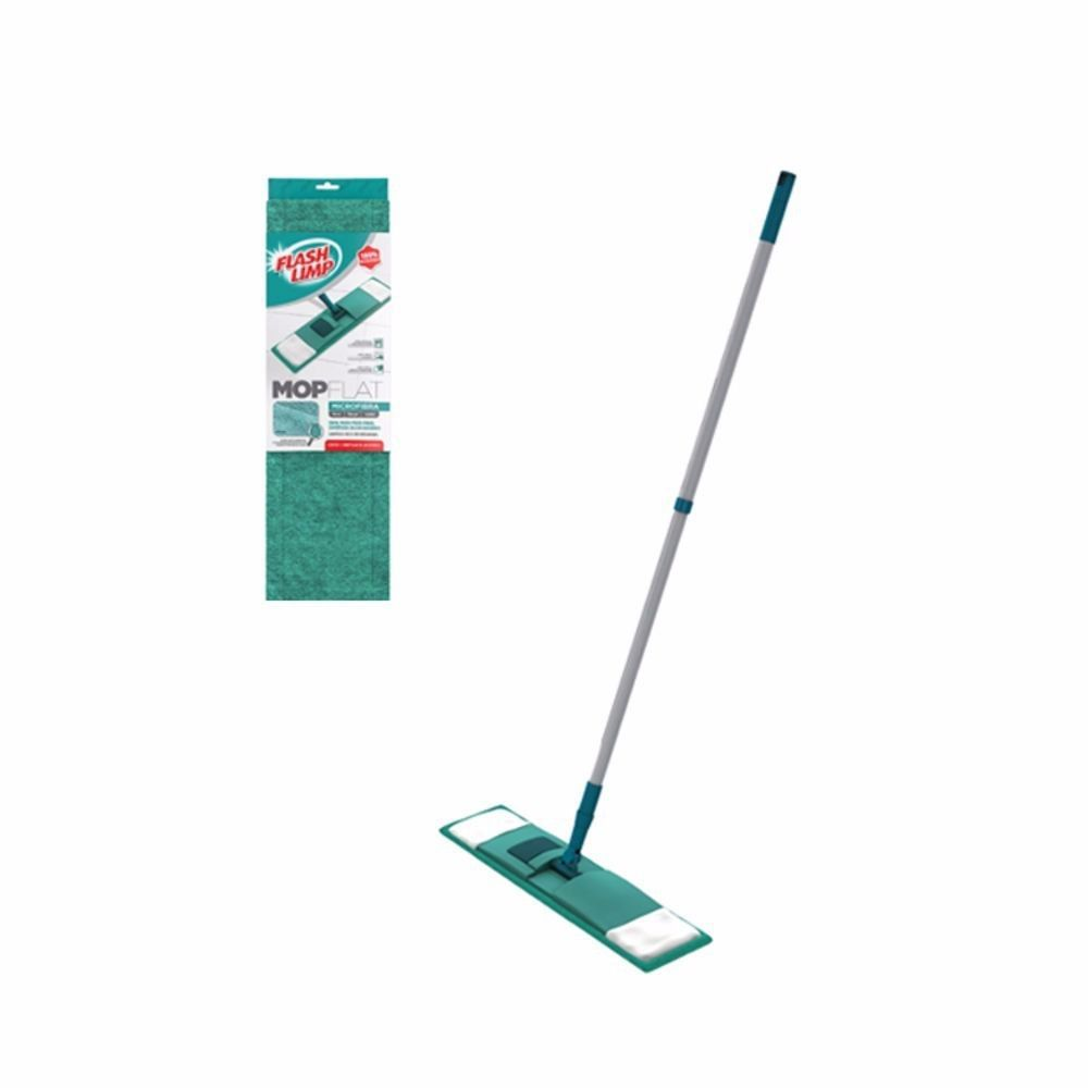 Mop Flat Chenile Inox FlashLimp