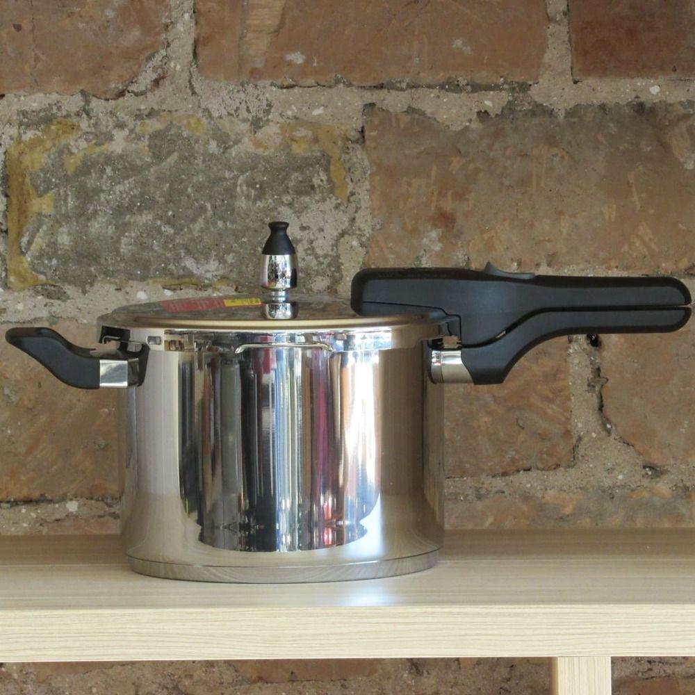 Panela de Pressão Durável Tramontina Aço Inox 4,5 L Brava